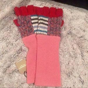 Burberry Patch Stripe Glove